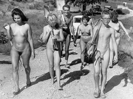 Nudists Camp Crowd 100