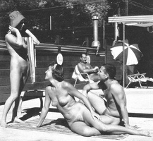 Nudists Camp Crowd 129
