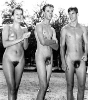 Nudists Camp Crowd 152