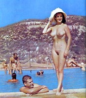 Nudists Camp Crowd 154