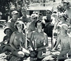 Nudists Camp Crowd 156