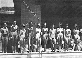 Nudists Camp Crowd 243