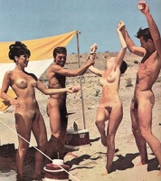 Nudists Camp Crowd 25
