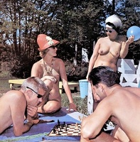 Nudists Camp Crowd 26
