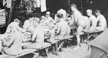 Nudists Camp Crowd 32