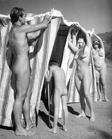 Nudists Camp Crowd 4