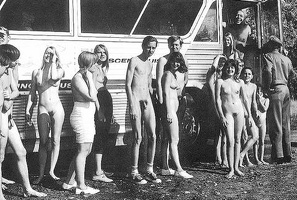 Nudists Camp Crowd 41