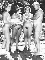 Nudists Camp Crowd 46
