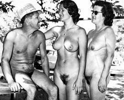 Nudists Camp Crowd 48