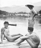 Nudists Camp Crowd 54
