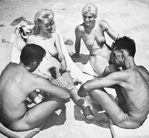 Nudists Camp Crowd 56