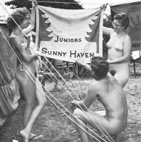 Nudists Camp Crowd 70