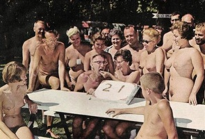 Nudists Camp Crowd 83
